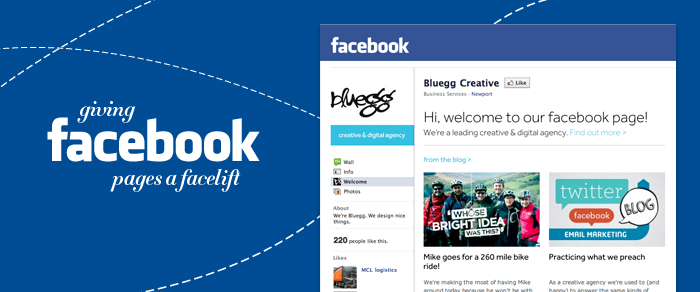 giving facebook pages a facelift