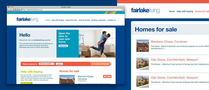 Fairlake Living website