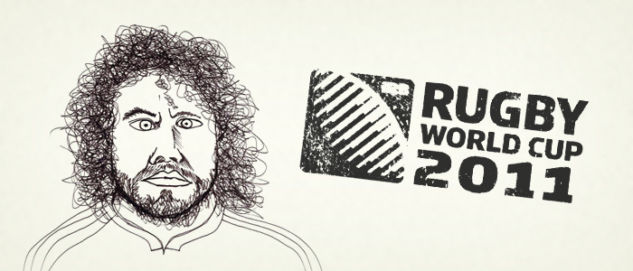 Rugby World Cup 2011 Doodles