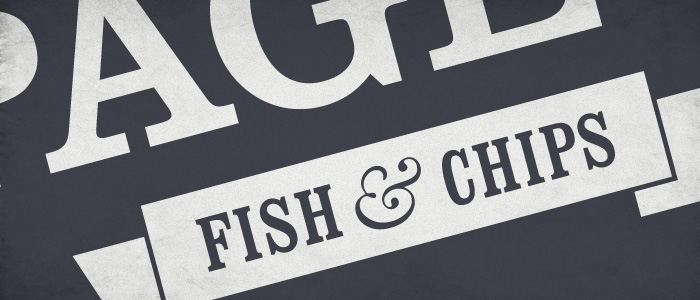 Sneak peek of a recent branding and website job for a Fish & Chip restaurant