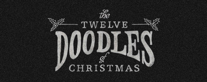 The Twelve Doodles of Christmas – By Bluegg