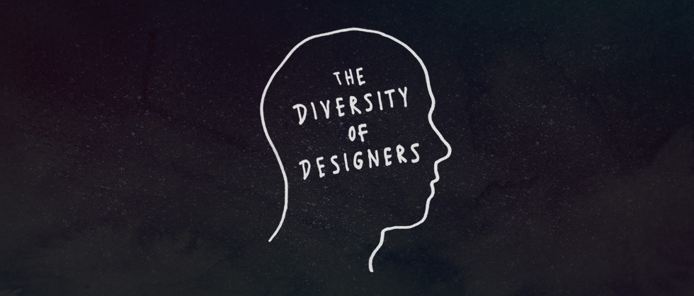 The diversity of designers
