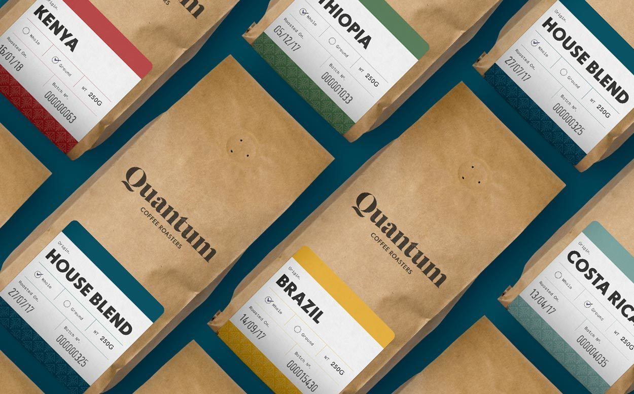 A quantum leap for a coffee brand