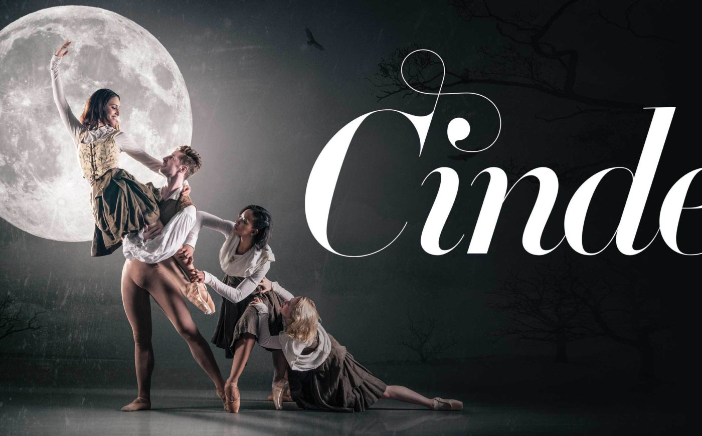 Image of the show branding for Cinderella