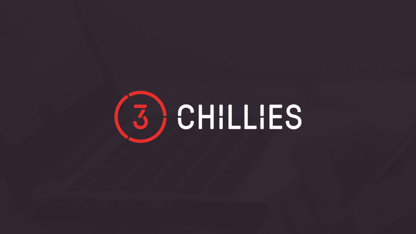 The new 3Chillies logo