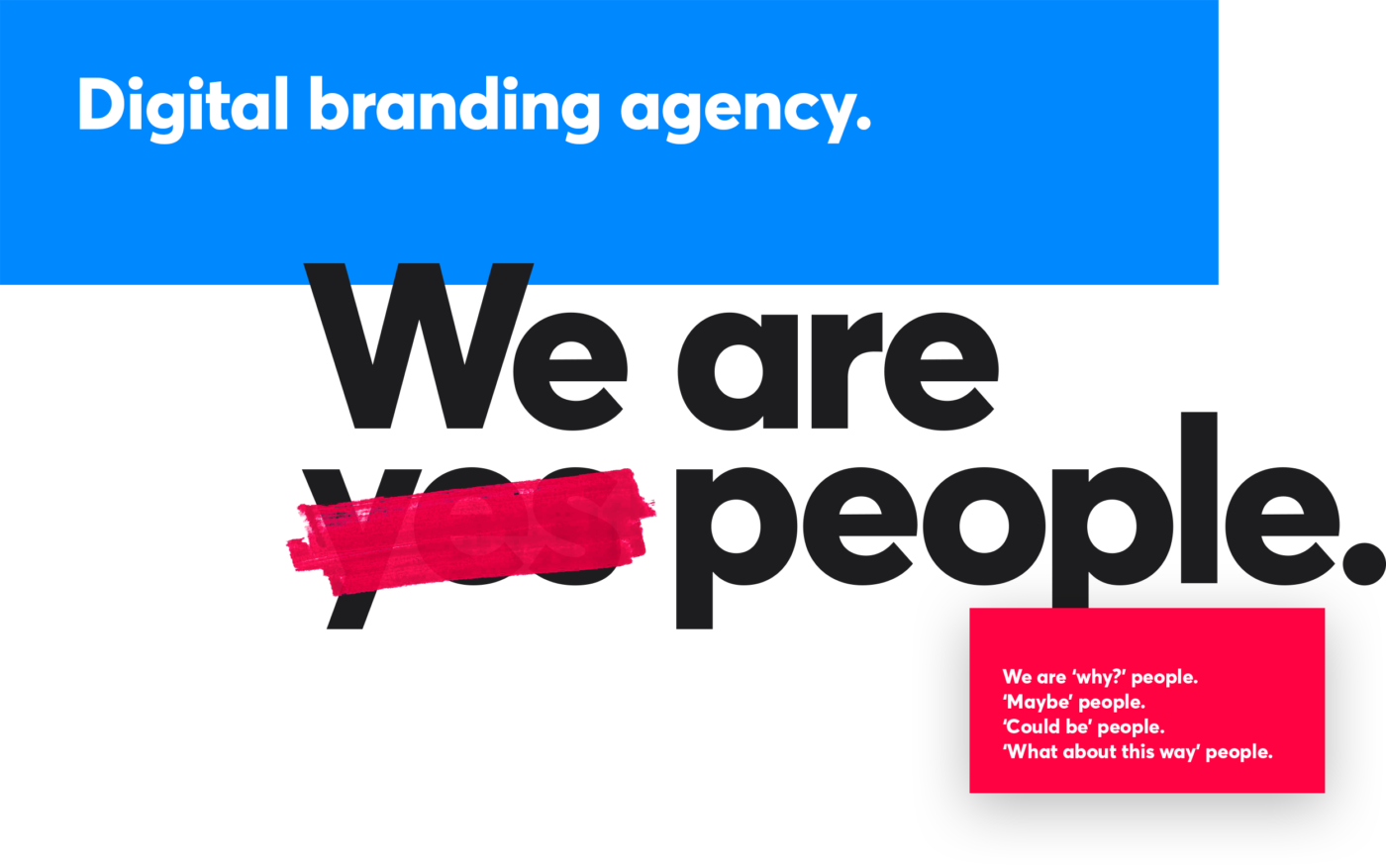 Bluegg positioning—Digital branding agency