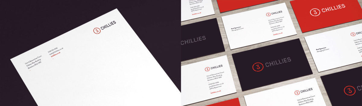 New letterhead and business card design