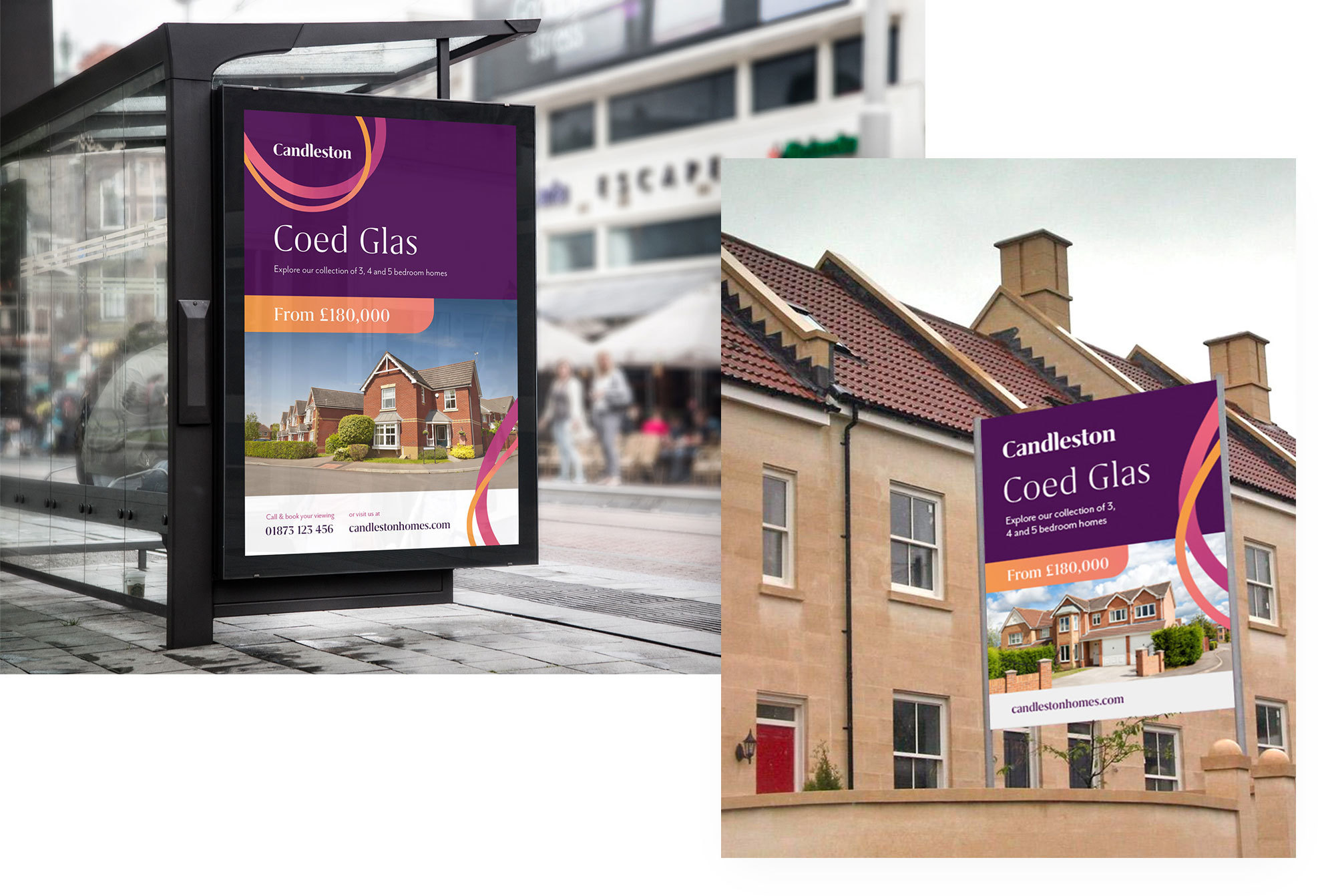 Candleston adverts and billboards